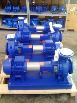 Pompe centrifughe su base per processi industriali